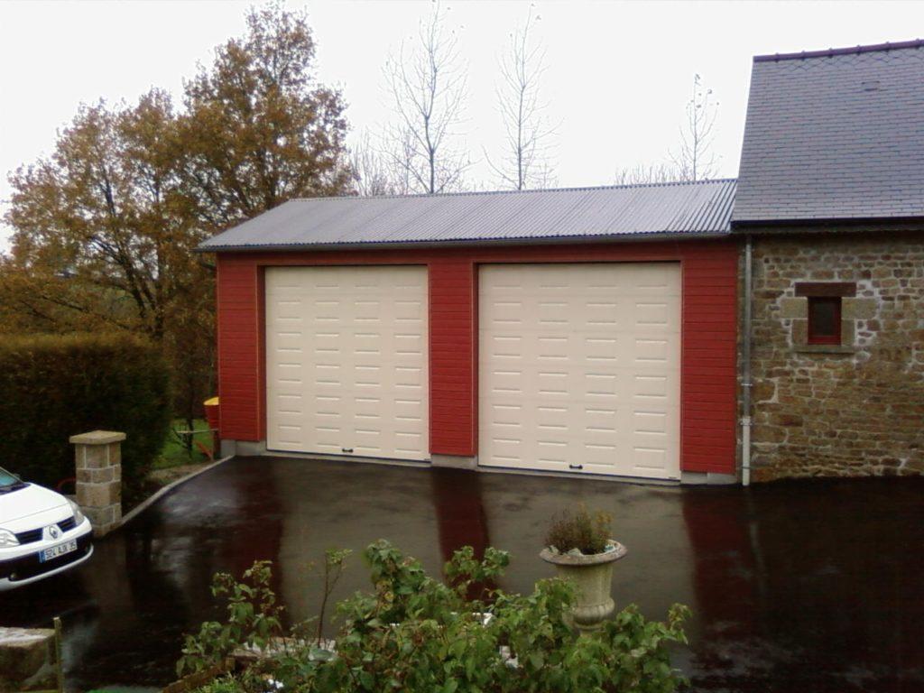 Porte de garage automatisée Dijon